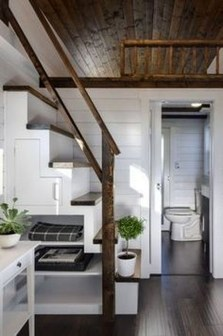 Cool Tiny House Bathroom Remodel Design Ideas 19
