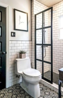 Cool Tiny House Bathroom Remodel Design Ideas 38
