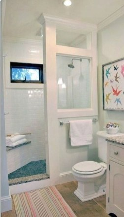 Cool Tiny House Bathroom Remodel Design Ideas 44