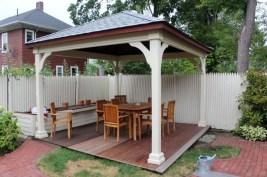 Cozy Gazebo Design Ideas For Your Backyard 09