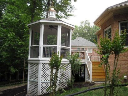 Cozy Gazebo Design Ideas For Your Backyard 11