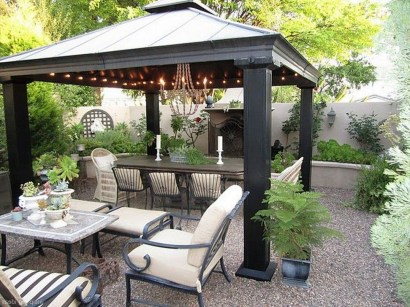 Cozy Gazebo Design Ideas For Your Backyard 13