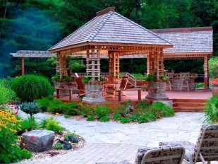Cozy Gazebo Design Ideas For Your Backyard 32