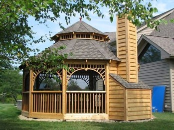 Cozy Gazebo Design Ideas For Your Backyard 39