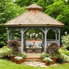 Cozy Gazebo Design Ideas For Your Backyard 50