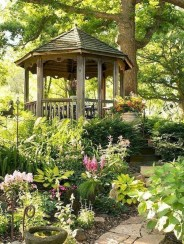 Cozy Gazebo Design Ideas For Your Backyard 51
