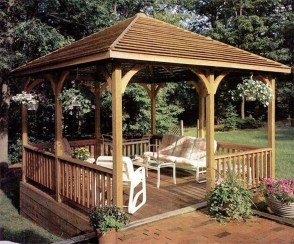 Cozy Gazebo Design Ideas For Your Backyard 53