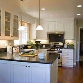 Creative U Shaped Kitchen Remodel Ideas 44