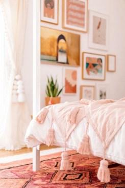 Cute Pink Bedroom Design Ideas 02