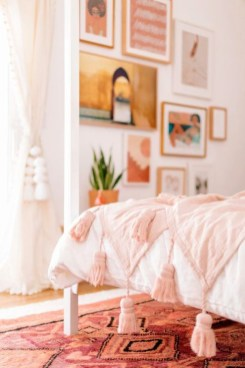 Cute Pink Bedroom Design Ideas 02