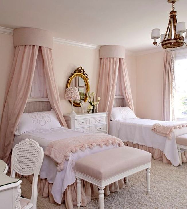 Cute Pink Bedroom Design Ideas 11