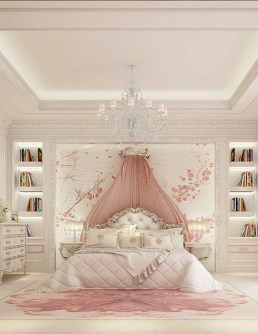 Cute Pink Bedroom Design Ideas 18
