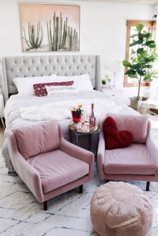 Cute Pink Bedroom Design Ideas 20
