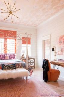 Cute Pink Bedroom Design Ideas 23