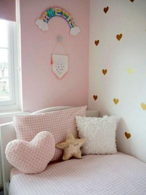 Cute Pink Bedroom Design Ideas 27