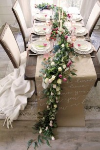 Elegant Table Settings Ideas For Valentines Day 03
