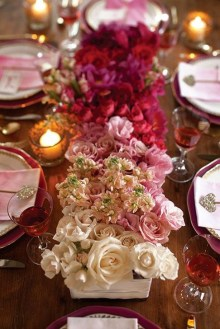 Elegant Table Settings Ideas For Valentines Day 09