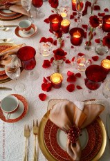Elegant Table Settings Ideas For Valentines Day 11
