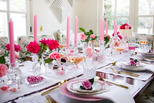 Elegant Table Settings Ideas For Valentines Day 41
