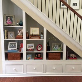 Genius Storage Ideas For Under Stairs 06