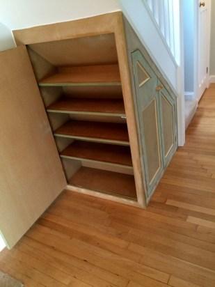 Genius Storage Ideas For Under Stairs 09