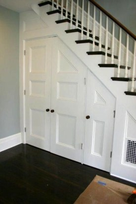 Genius Storage Ideas For Under Stairs 12