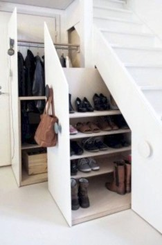 Genius Storage Ideas For Under Stairs 18