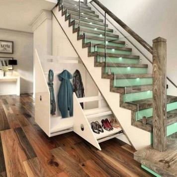 Genius Storage Ideas For Under Stairs 21