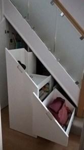 Genius Storage Ideas For Under Stairs 22