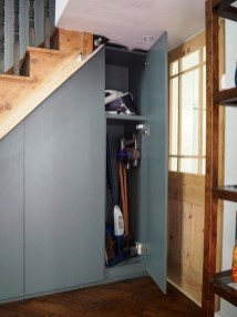 Genius Storage Ideas For Under Stairs 44