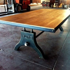 Modern And Unique Industrial Table Design Ideas 12