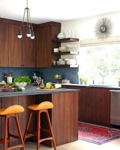 Modern Mid Century Kitchen Design Ideas For Inspiration 36