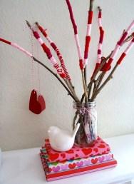 Simple DIY Valentines Day Decor Ideas 14
