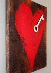 Simple DIY Valentines Day Decor Ideas 19