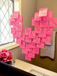 Simple DIY Valentines Day Decor Ideas 24