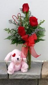 Stunning Valentine Floral Arrangements Ideas 01