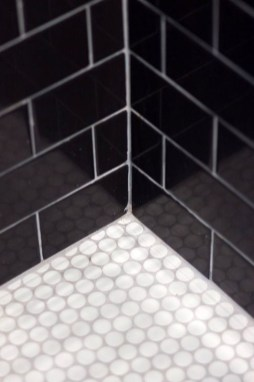 The Best Ideas Black Shower Tiles Design 16