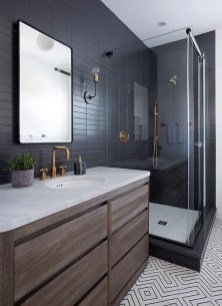 The Best Ideas Black Shower Tiles Design 21