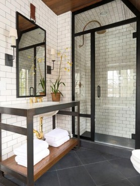 The Best Ideas Black Shower Tiles Design 34