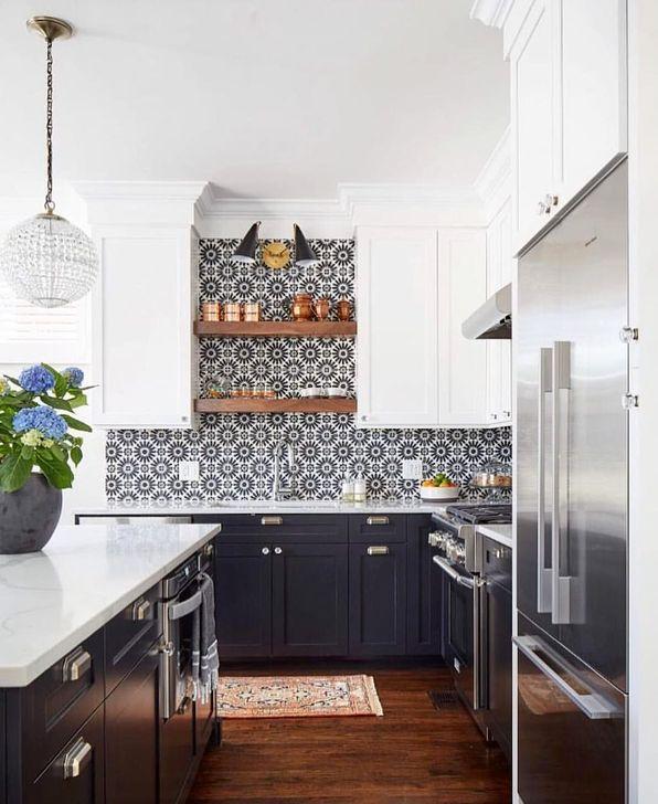 Unique And Colorful Kitchen Design Ideas 07