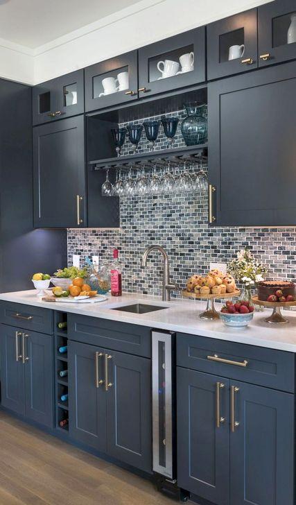 Unique And Colorful Kitchen Design Ideas 42