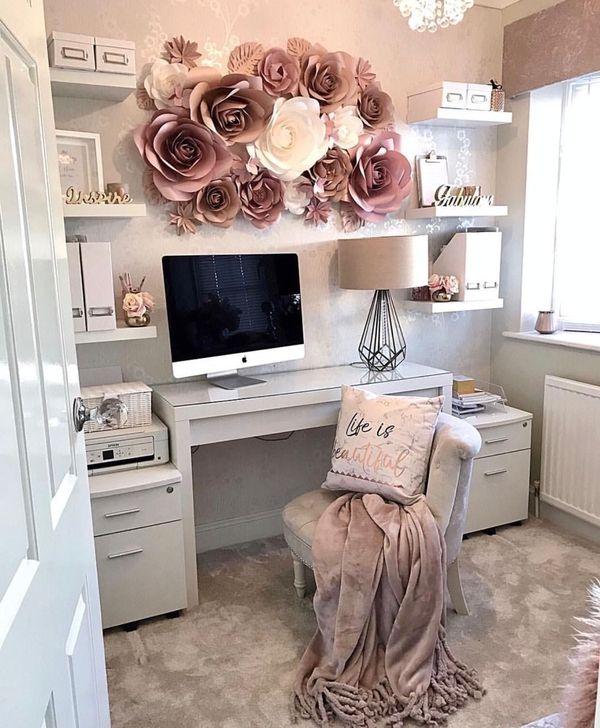 Brilliant Home Office Decoration Ideas 36