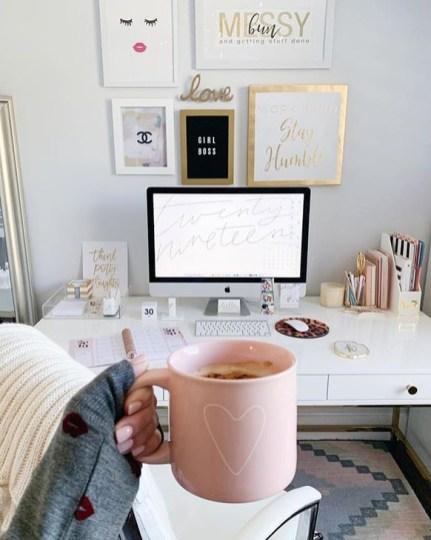 Brilliant Home Office Decoration Ideas 42