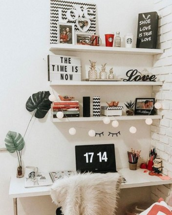 Brilliant Home Office Decoration Ideas 47