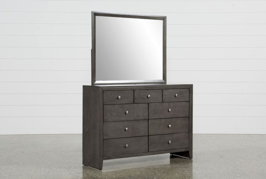 Classy Bedroom Dressers Ideas With Mirror 14