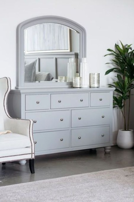 Classy Bedroom Dressers Ideas With Mirror 18