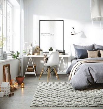 Cool Scandinavian Bedroom Design Ideas 08