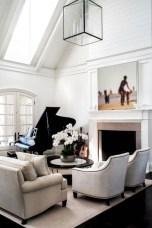Cozy Black And White Living Room Design Ideas 02