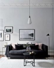 Cozy Black And White Living Room Design Ideas 03