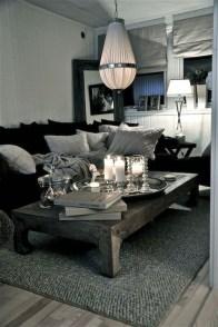 Cozy Black And White Living Room Design Ideas 17